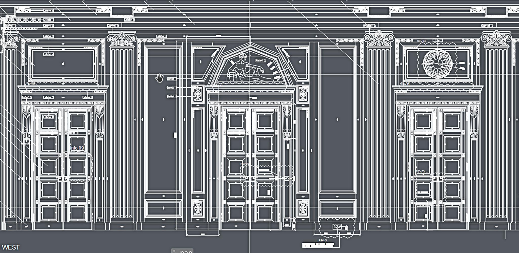 Schnitzleisten für die Renovierung und die Rekonstruktion von historischen Gebäuden und Stilvoll Wohnen