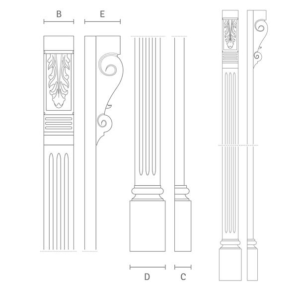 Schlagleisten für historische Holzfenster