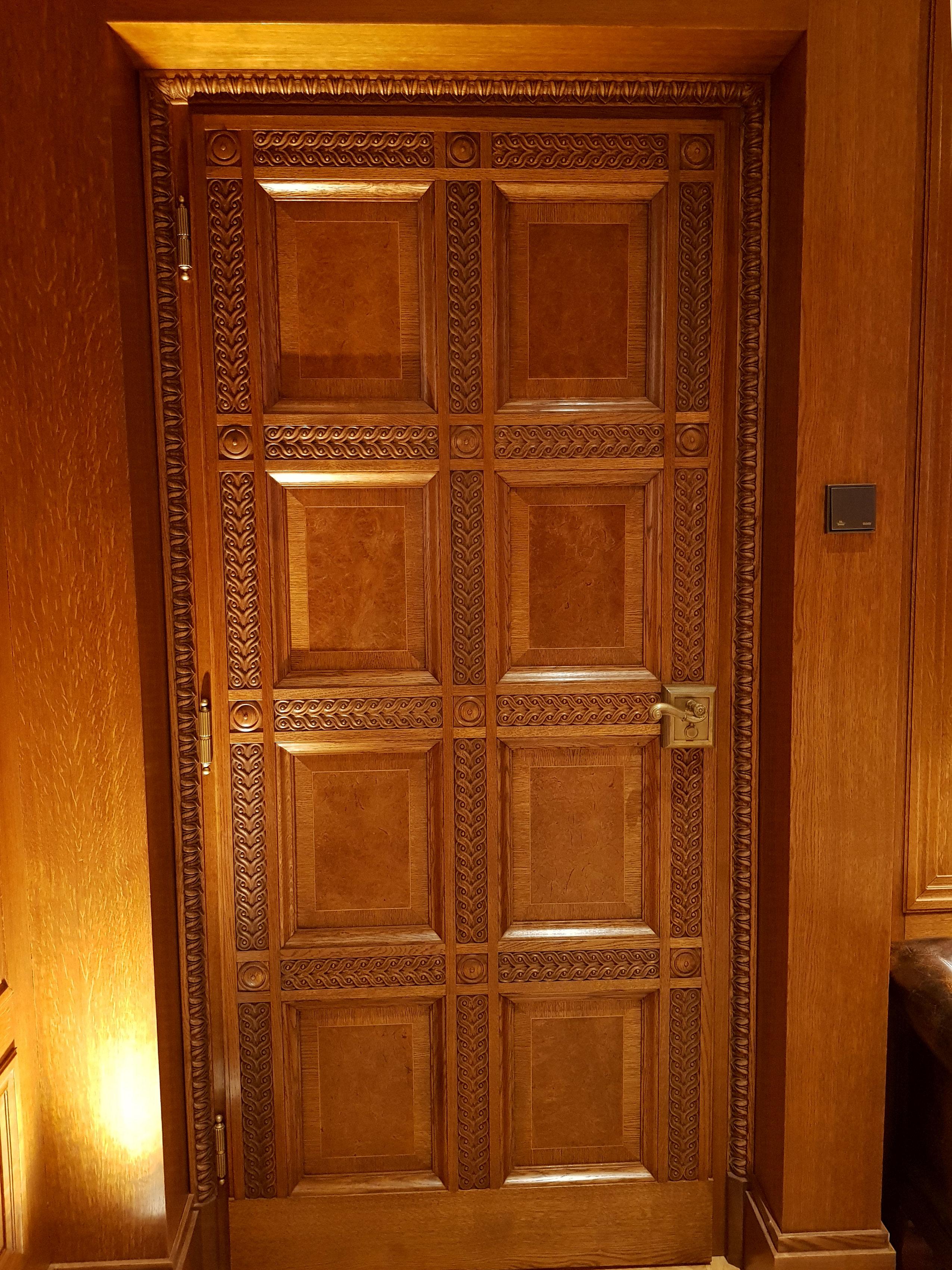 Holz-Innentüren für Residenzen