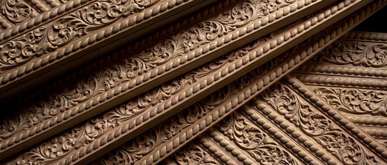 Holzschnitzerei für Denkmalpflege und exklusive Interieur